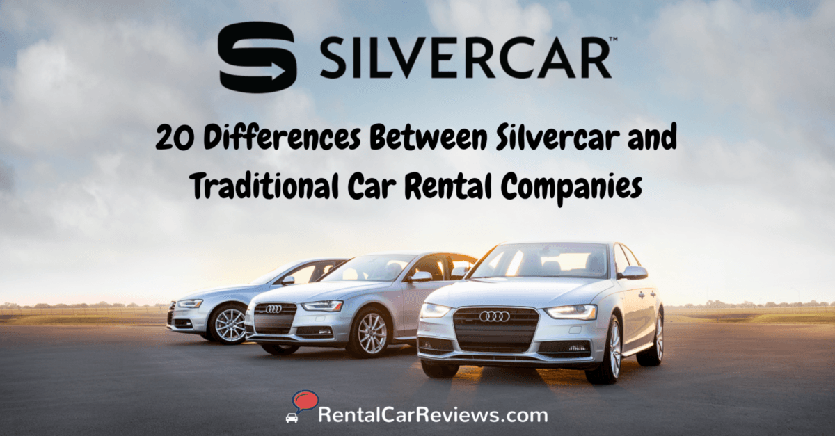 Silvercar Compared with Avis and Hertz - 20 Big Differences - Rental ...