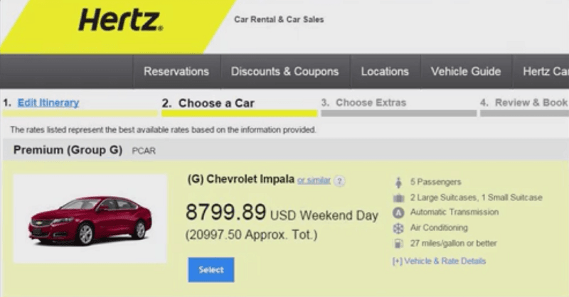 Conan Gets Resolution From Hertz For Pricing Error