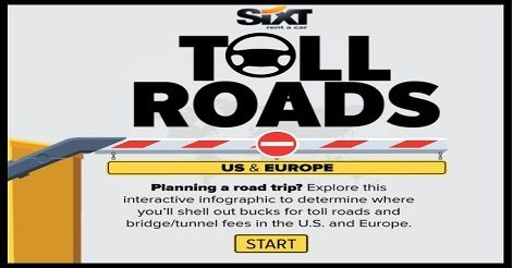 The Cost Of Every Toll Road In Europe And The US