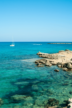 Crystal clear waters of Cyprus