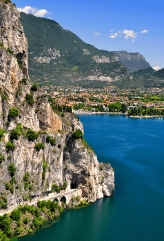 Lago di Garda - the largest lake in Italy