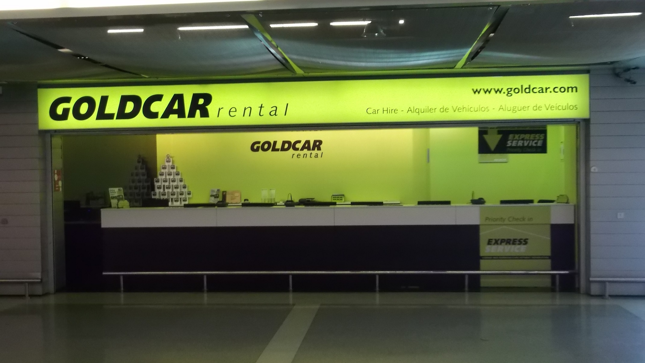 Goldcar Car Rental Lisbon Portela International Airport