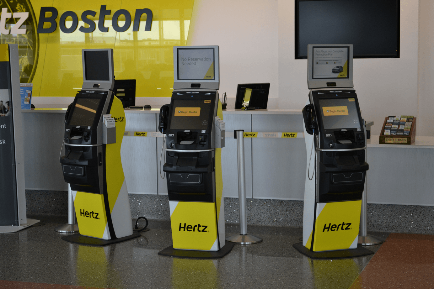 Payless Car Rental Boston Logan Intl Airport MA BOS
