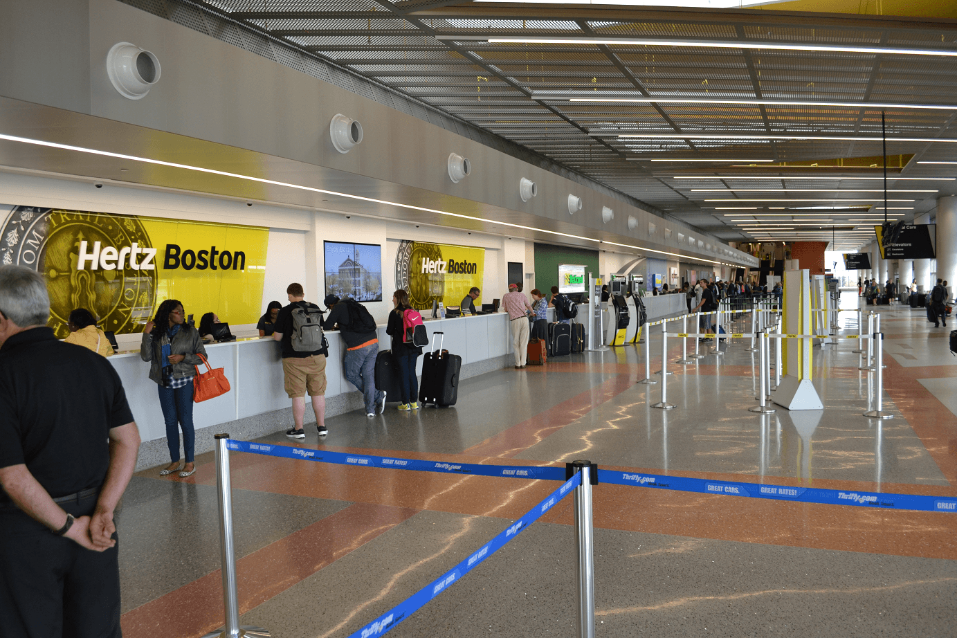 Hertz Car Rental Boston Logan International