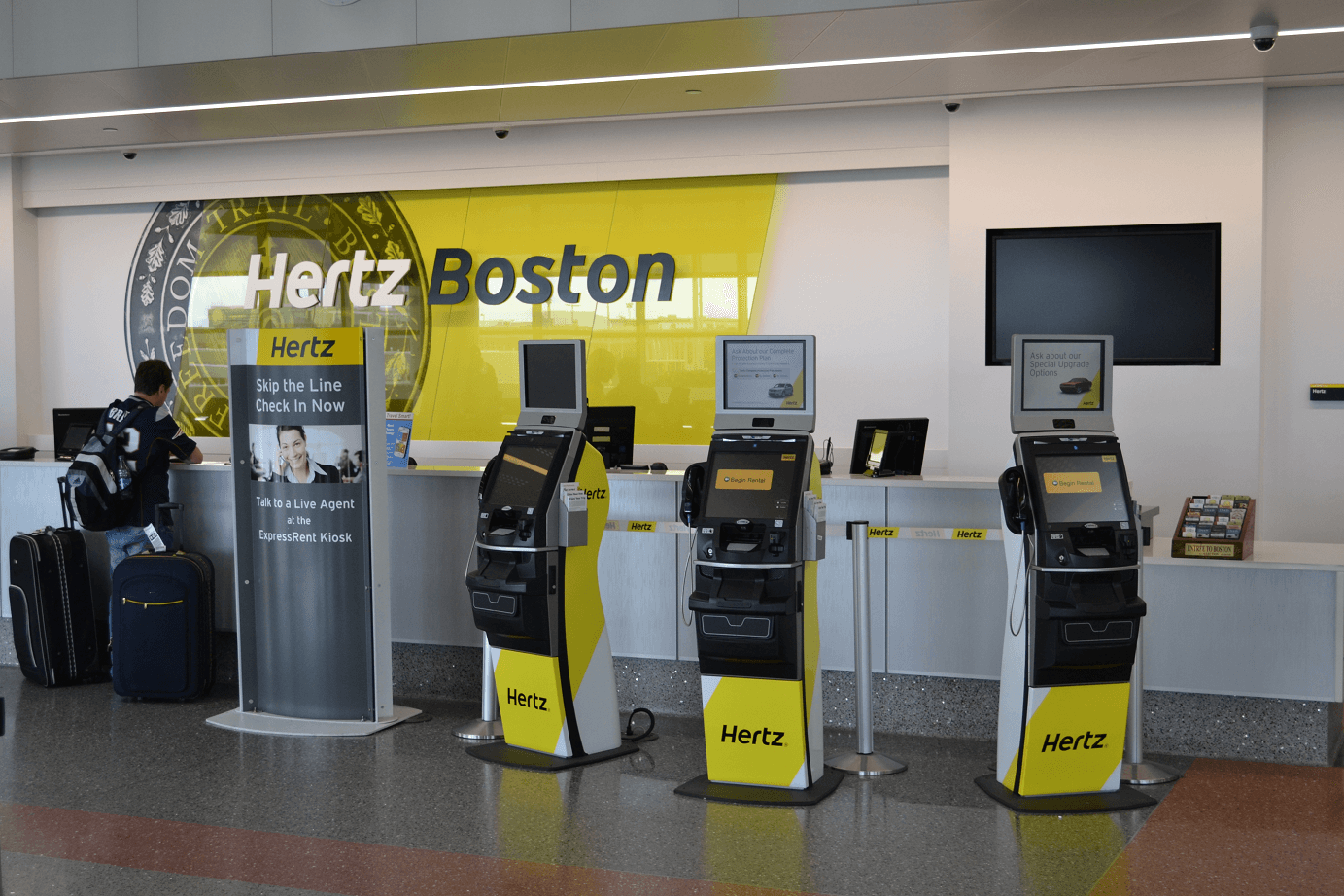 Enterprise car rental locations boston logan airport