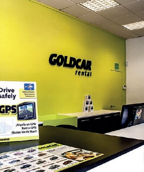 Goldcar Car Rental - Malaga - Renfe Train Station - Spain