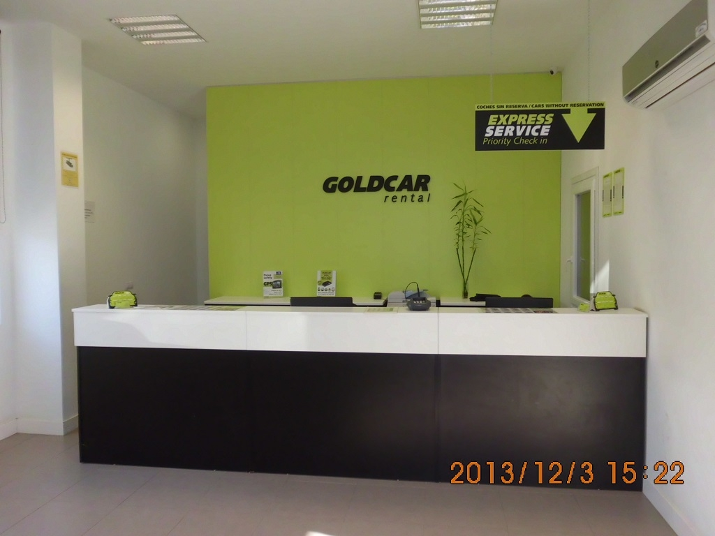 Goldcar Car Rental - Santander Airport - SDR - Spain